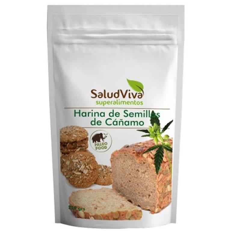 Harina de Semillas de Cáñamo Bio 250g