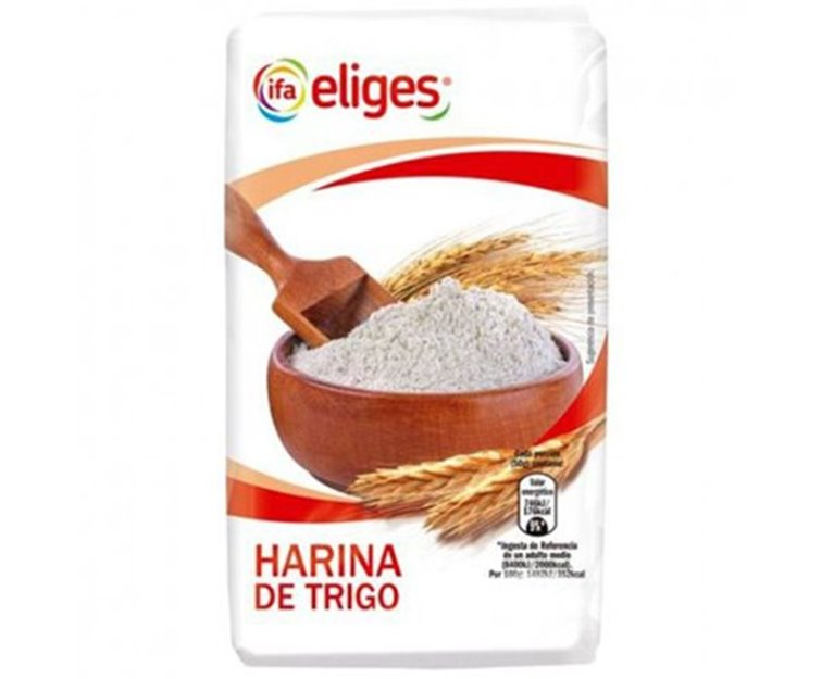 Eliges - Harina de trigo (500 gr), 1 ud