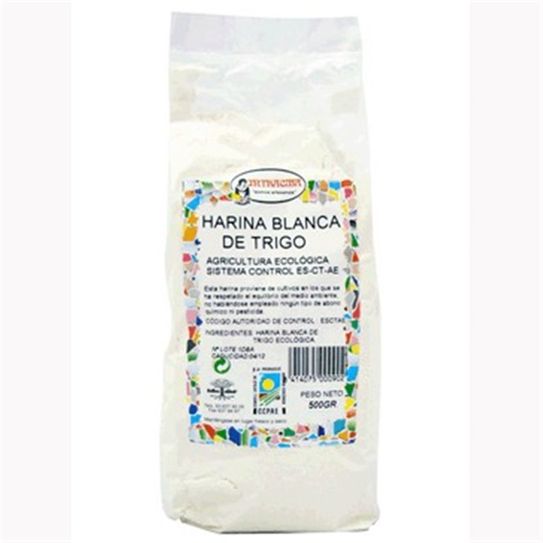 Harina de Trigo Blanco Bio 500g