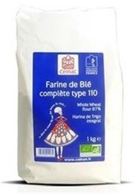 Harina de Trigo Integral Bio 1kg, 1 ud
