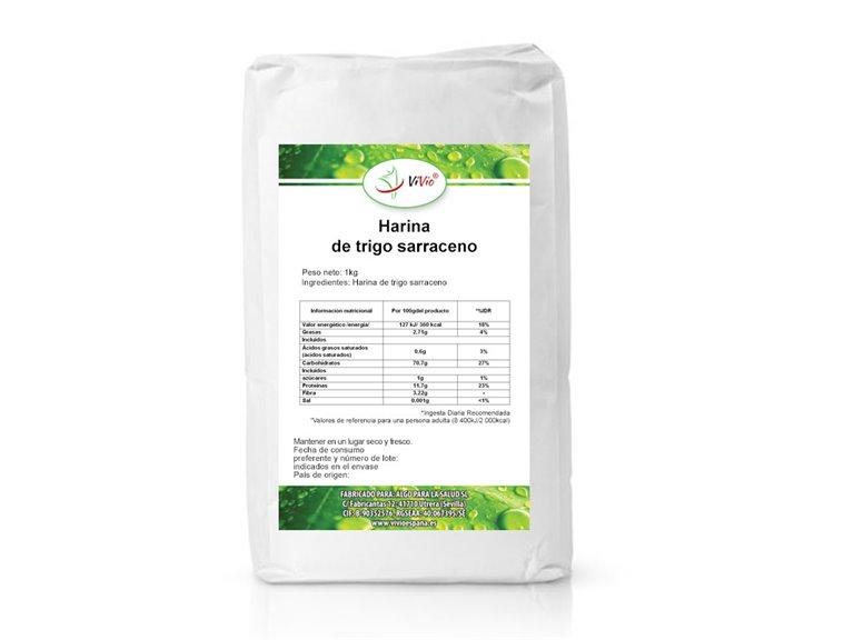 Harina de trigo sarraceno 1kg
