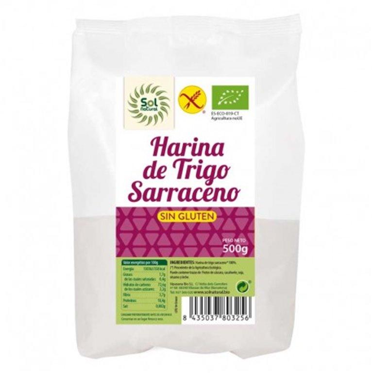Harina de trigo sarraceno sin gluten 500g