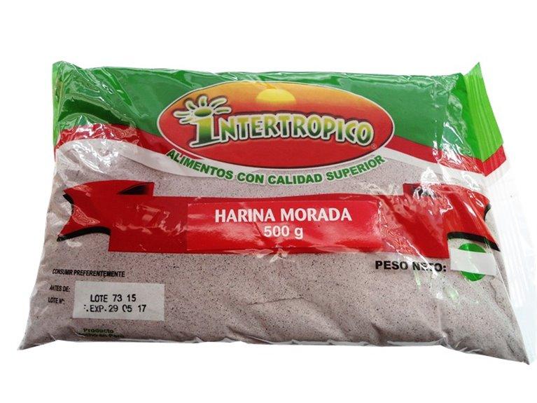 HARINA MORADA INTERTROPICO X 500GR