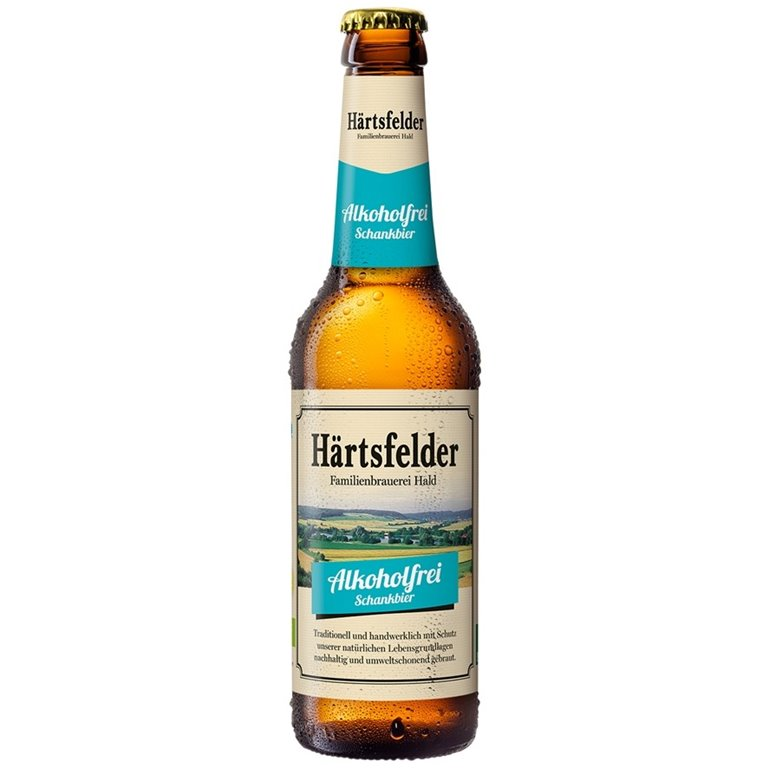 Hartsfelder Oko Krone Beer without Alochol Bio 330ml
