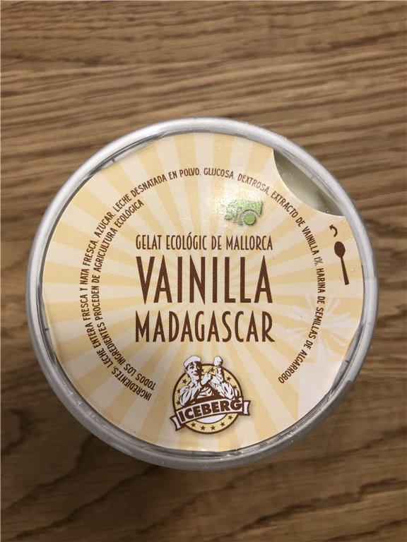 Helado de vainilla madagascar, 1 ud