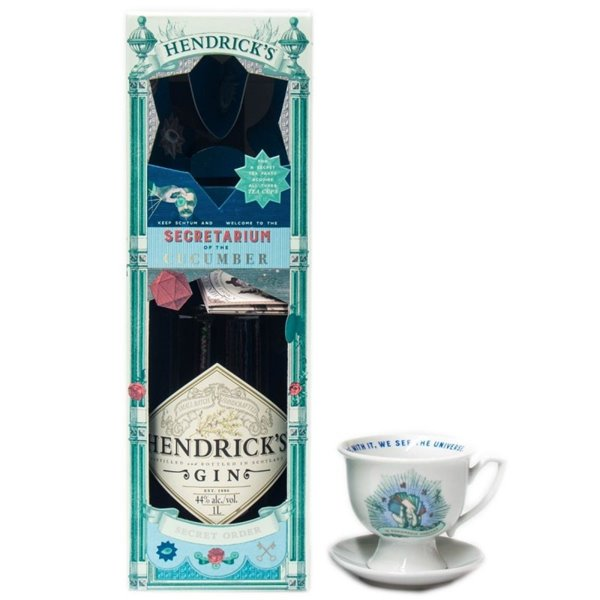 HENDRICKS TEA TIME 1,00 L. 44º