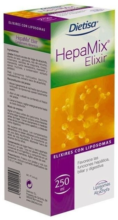 Hepamix Elixir, 250 gr
