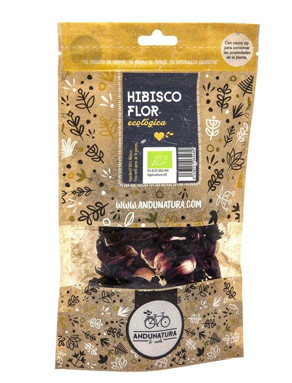 Hibisco, flores Bolsa Kraft 30gr ECO