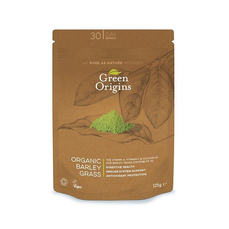 Hierba de Cebada en polvo bio Green Origins