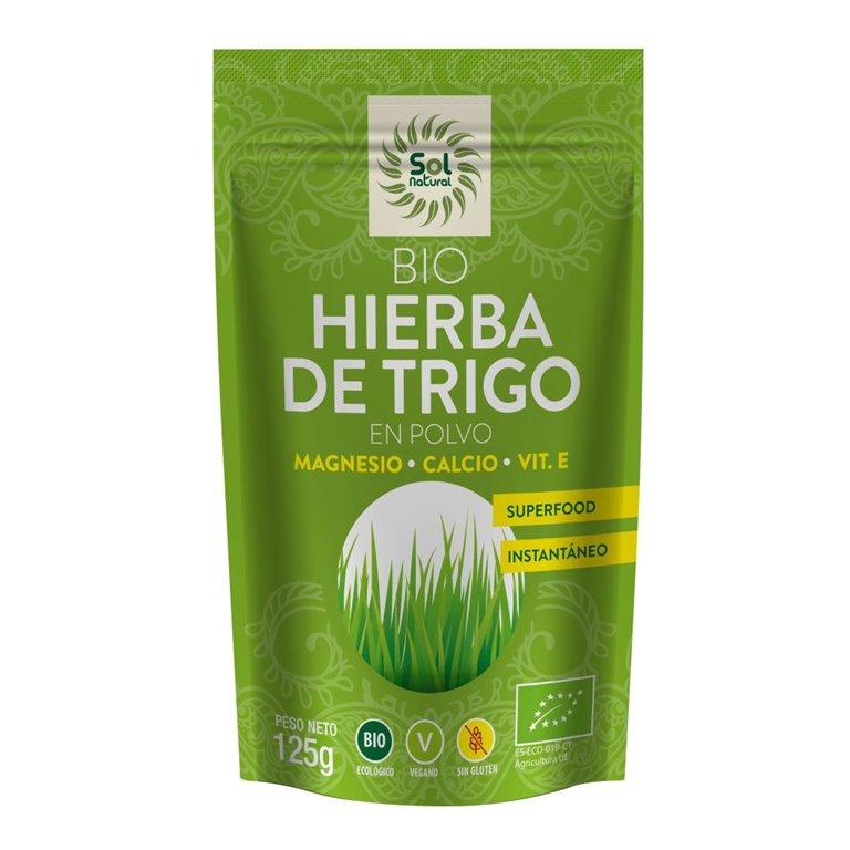 Hierba de Trigo en Polvo Sin Gluten Bio 125g