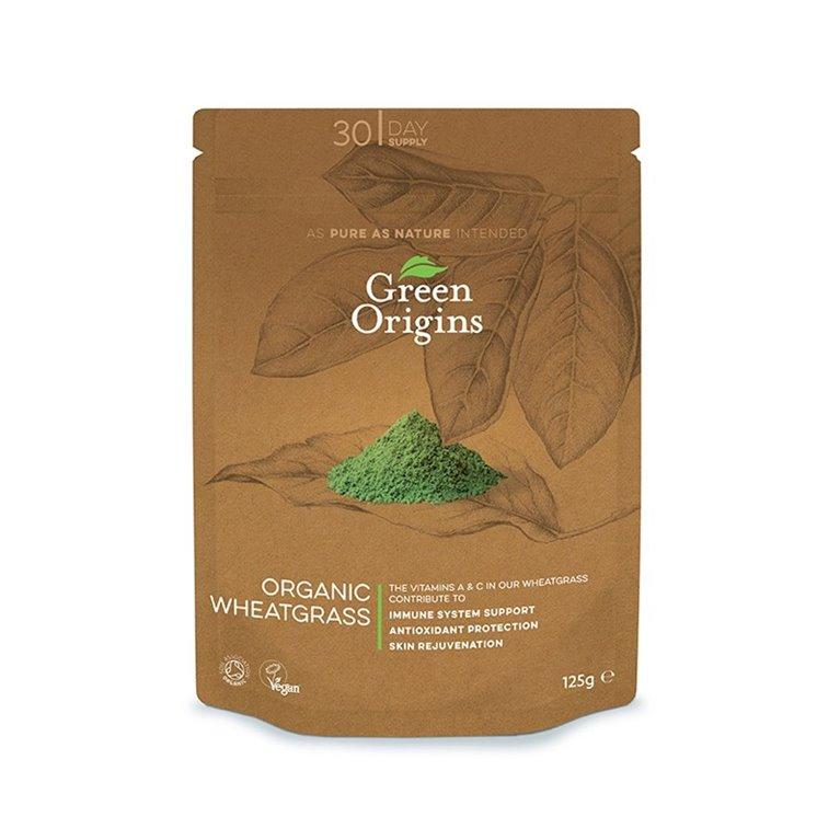 Hierba de trigo verde en polvo bio Green Origins