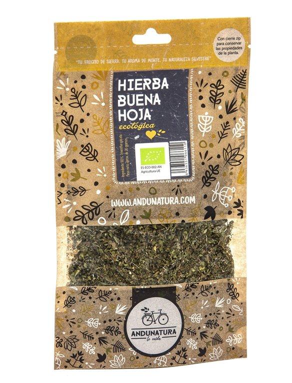 Hierbabuena, hojas Bolsa Kraft 15g ECO