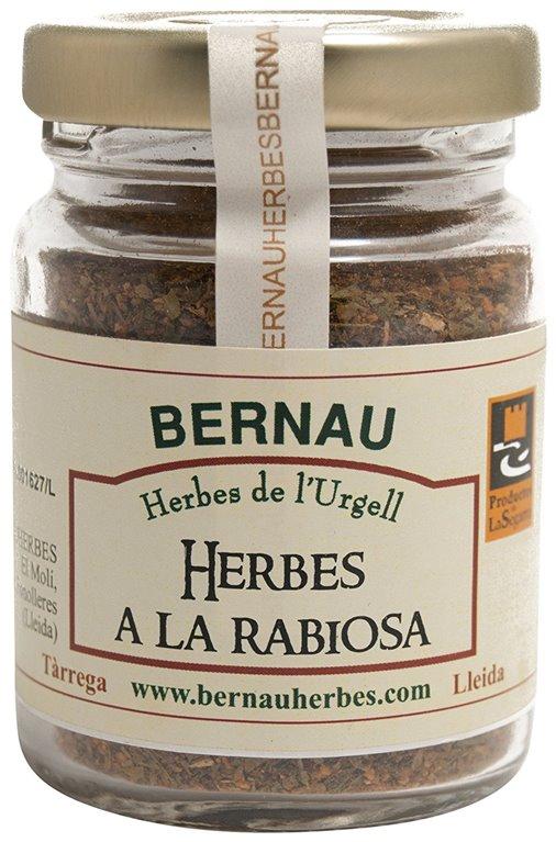 Hierbas a la rabiosa 25gr. Bernau Herbes de l'Urgell. 12un., 1 ud