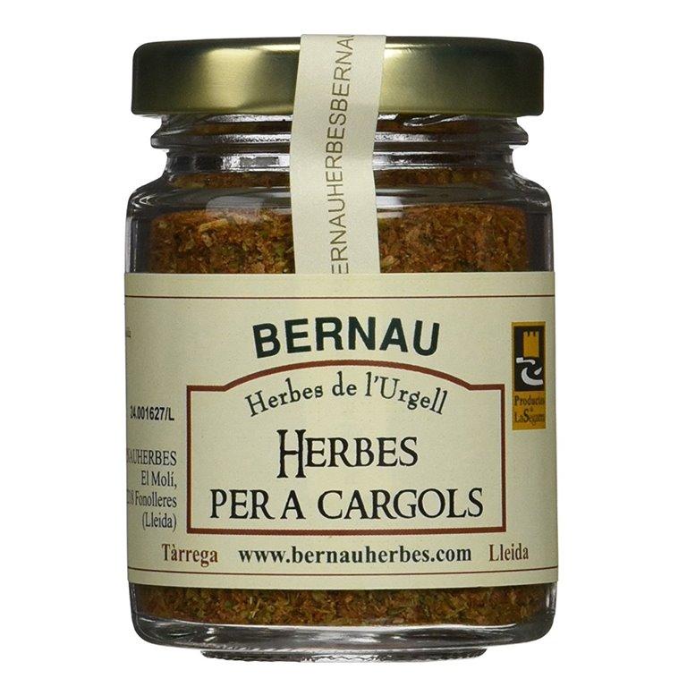 Hierbas para caracoles 50gr. Bernau Herbes de l'Urgell. 12un., 1 ud