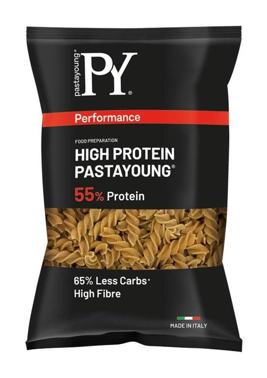 High Protein 55% FUSILLI Rigate (paquete 250 gr)