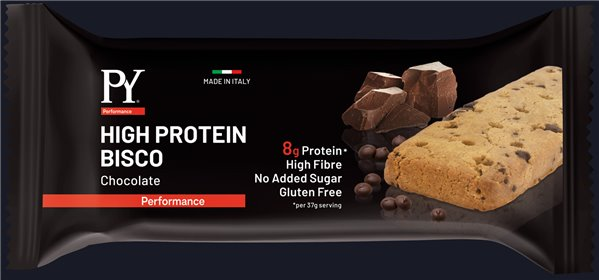 High Protein BISCO Chocolate Drops (barrita 55 gr)