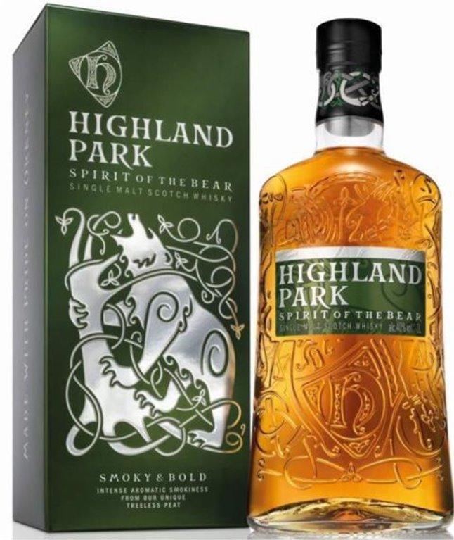 Highland Park Spirit of The Bear Litro