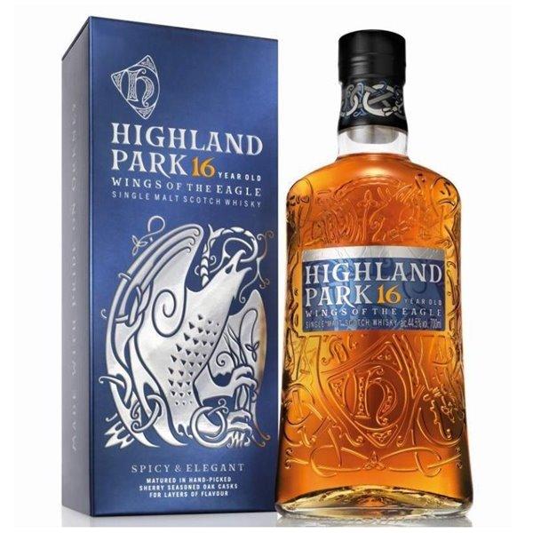 HIGHLAND PARK WINGS OF THE EAGLE 16 YO 0,70 L. + ESTUCHE