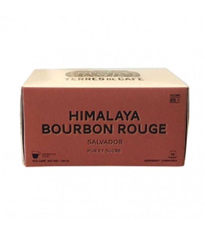 Himalaya Bourbon Rouge 85+ Café Especialidad (10 Cápsulas). Terres de Cáfe. 15ud