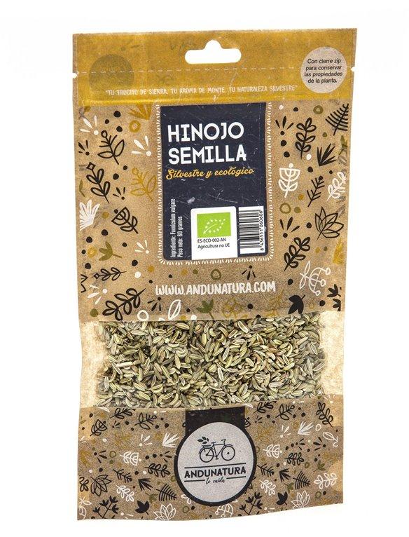 Fennel seeds Kraft Bag 60g ORGANIC
