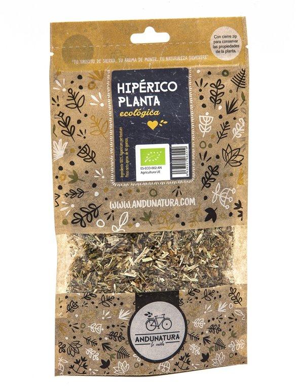 Hipérico, planta Bolsa Kraft 40gr ECO