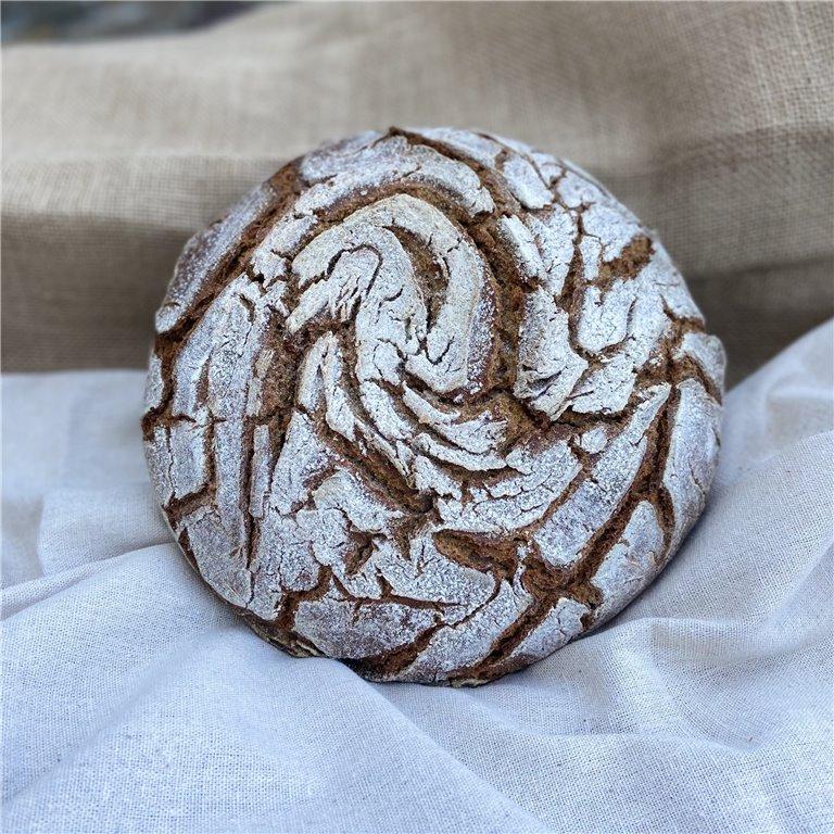100% wholemeal rye flour