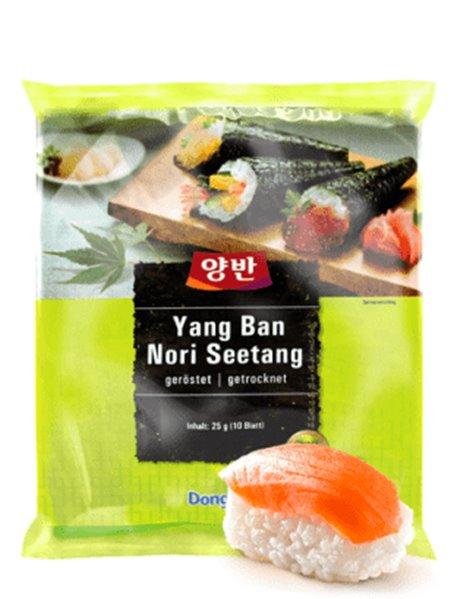 Hojas de Nori para Sushi (10 hojas) 25g