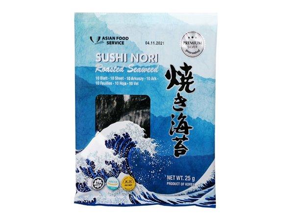 Hojas de Nori para Sushi (50 hojas) 125g