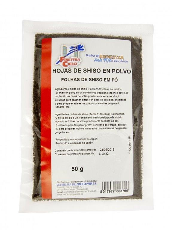 Hojas de Sisho Polvo 50g, 1 ud