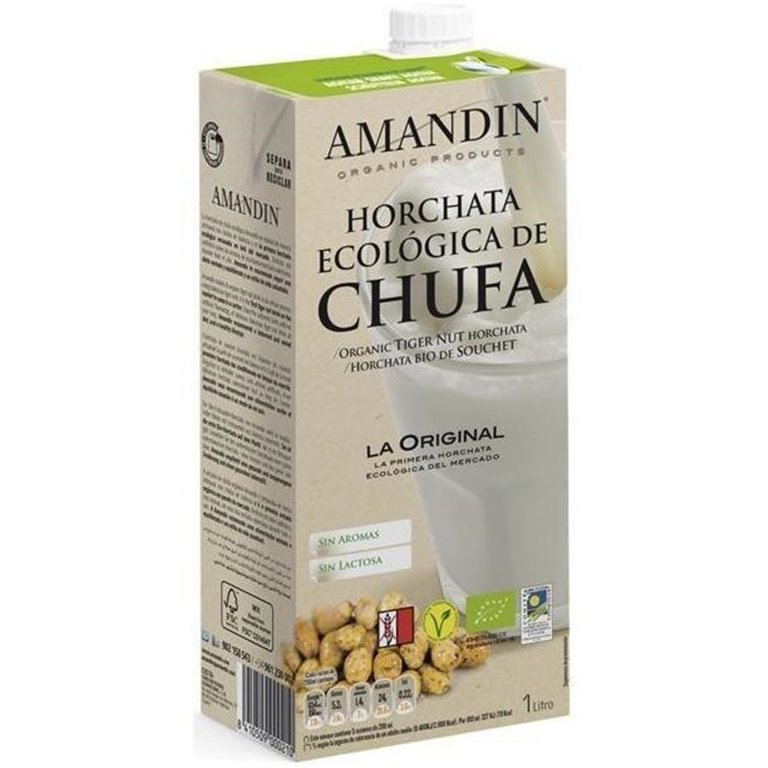 Horchata de Chufa Bio 1L, 1 ud