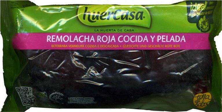 Huercasa - remolacha cocida y pelada (500 gr), 1 ud