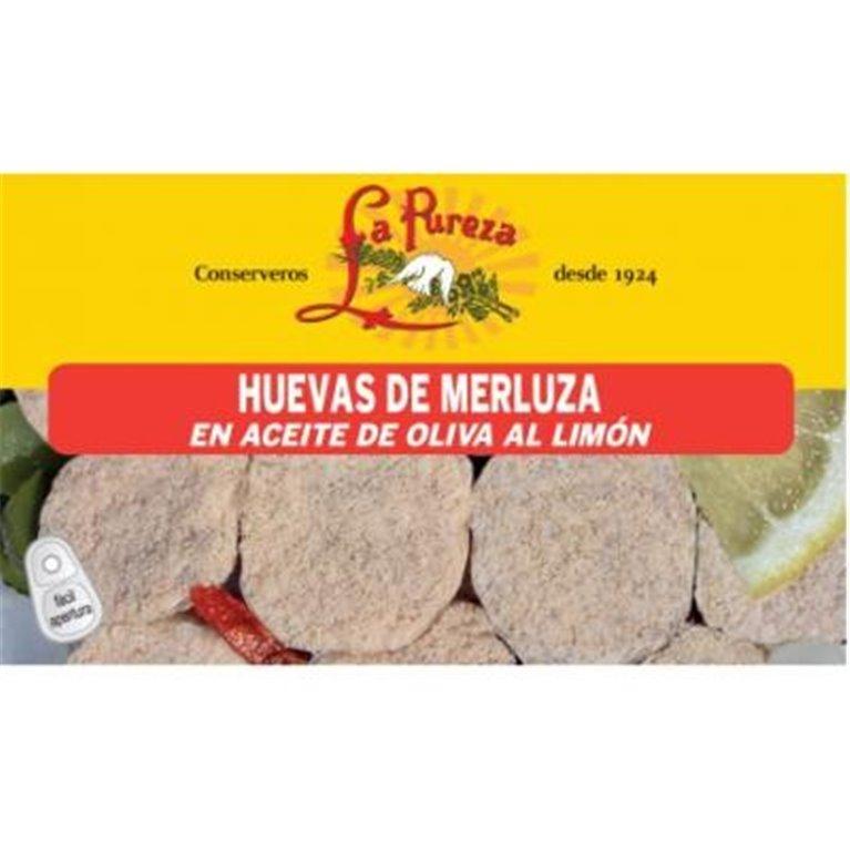 Huevas de merluza al limón La Pureza