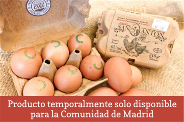 Huevos camperos naturales