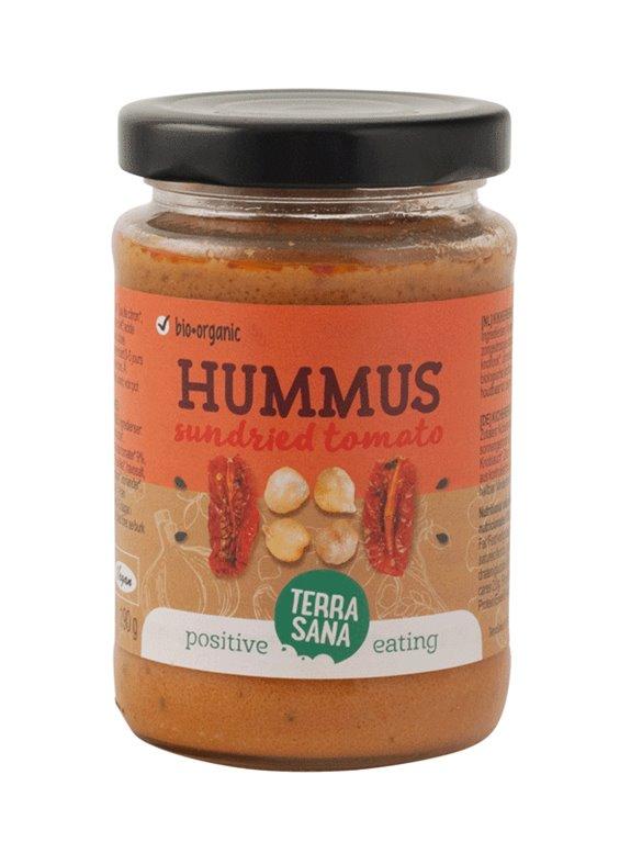 Hummus con tomates secos (Paté garbanzos)