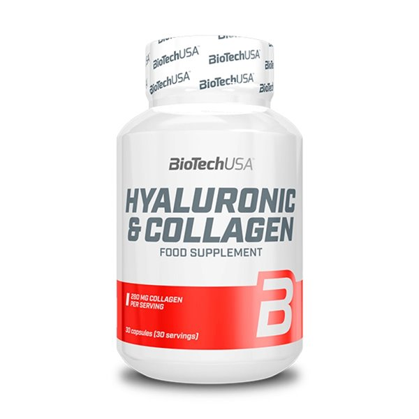 Hyaluronic & collagen 30 caps