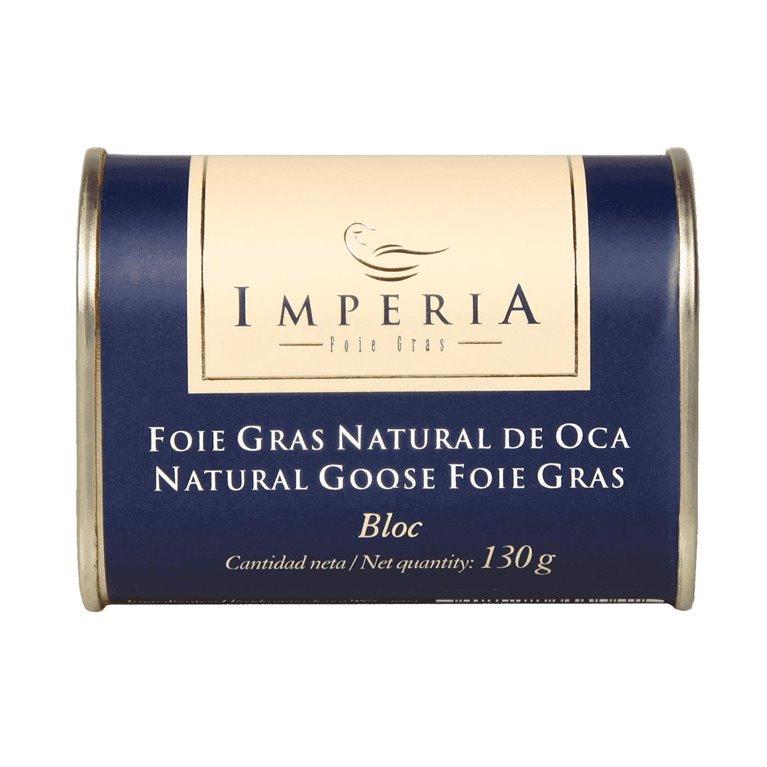 Imperia Bloc Foie Gras Natural de Oca 130g