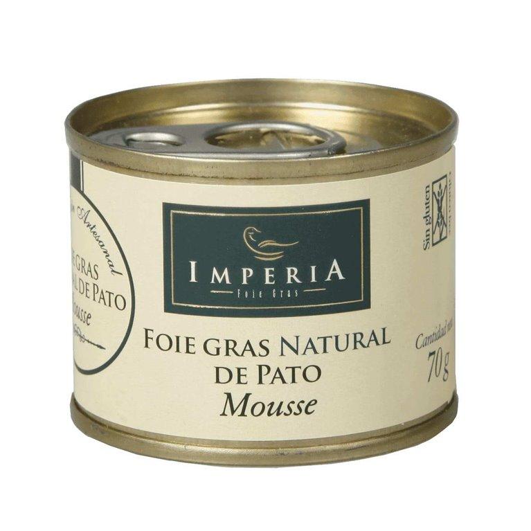 Imperia Mousse Foie Grass de Pato Natural 70g