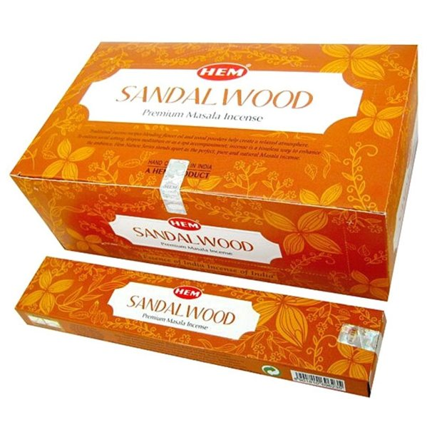 Incense Stick Sandalwood (Masala Agarbatti ) Hem 15g