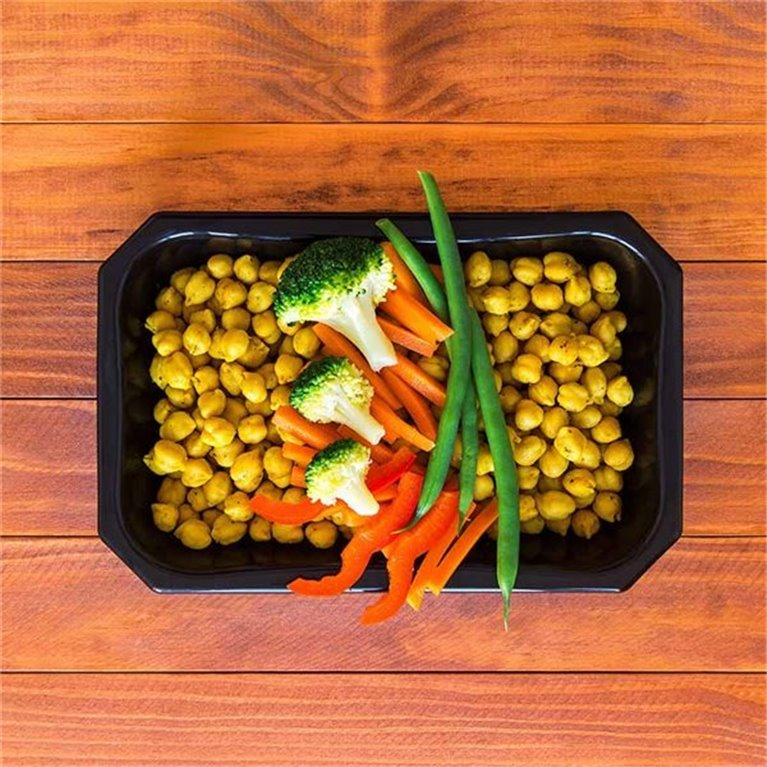 Indian Chickpeas Salad