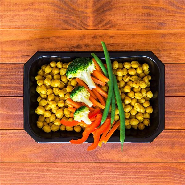 Indian Chickpeas Salad