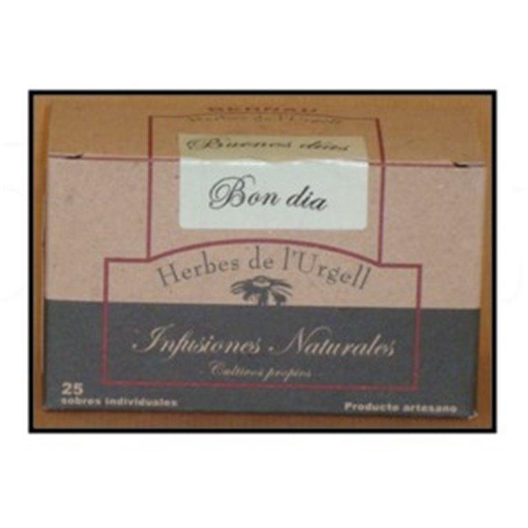 Infusión buenos días 25u. Bernau Herbes de l'Urgell. 10un., 1 ud