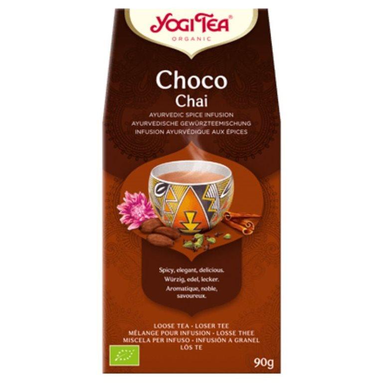 """Infusión Choco Chai """"Loose"""" Bio 90g, 1 ud"""