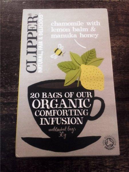 Infusión Comforting orgánica Clipper 20 bolsas