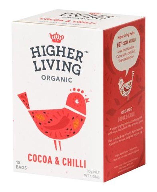 Infusión de cacao&chili, 30 gr