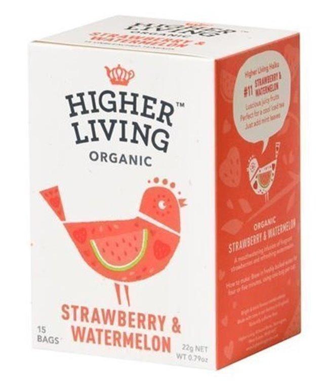 Infusión de fresa&sandía, 20 gr