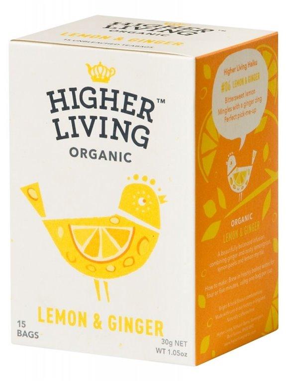 Infusión de jengibre y limón, 30 gr