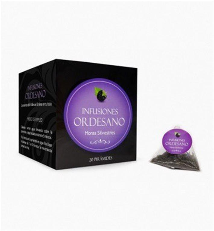 Infusion of wild blackberries Ordesano