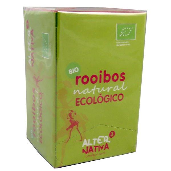 Infusión de Rooibos Bio Fairtrade 30g (20tb)