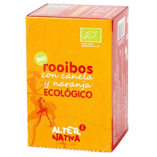 Infusión de Rooibos con Naranja y Canela Bio Fairtrade 30g (20tb)