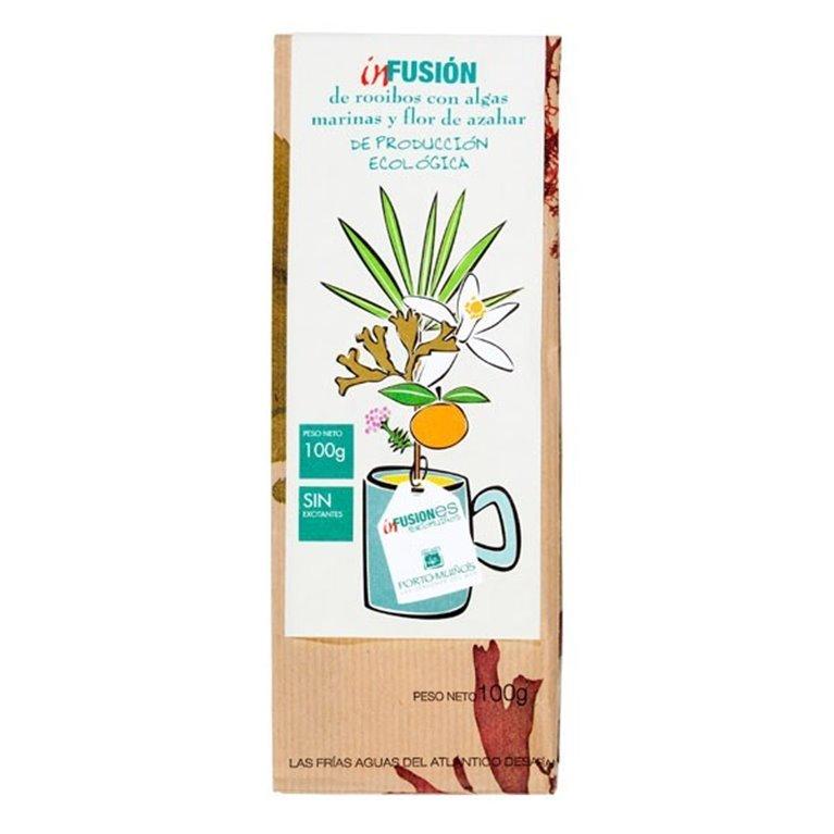 Infusión de Té Rooibos con Algas Marinas y Flor de Azahar Bio 100g